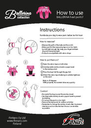 Ballerina instructions