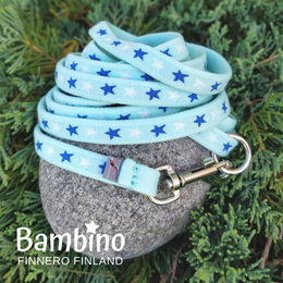 BAMBINO leash Blue Lagoon