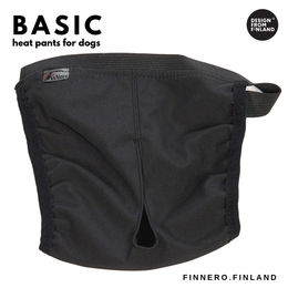 BASIC heat pants for dog black