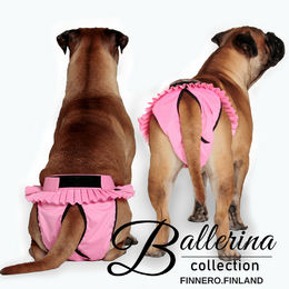 BALLERINAheat pants for dog size L (5) photo: Sarianna Seppä