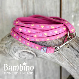 BAMBINO leash Girly Pink