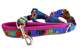 CAMO SPORT adjustable leash Rainbow-pink