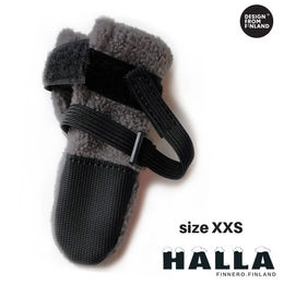 HALLA winter booties size XXS and grey