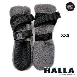 Grey HALLA winter booties size XXS