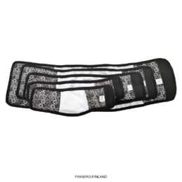 JustinCase male wrap OCEAN - black open and all sizes