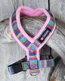 Nordic Lights Soft Y-Harness pink