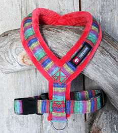 Nordic Lights Soft Y-Harness red