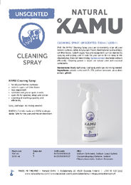 Natural KAMU Cleaning spray unscented