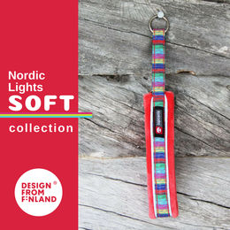 Nordic Lights Soft collar red