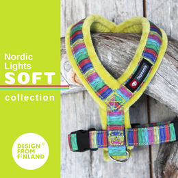 Nordic Lights Soft harness lime