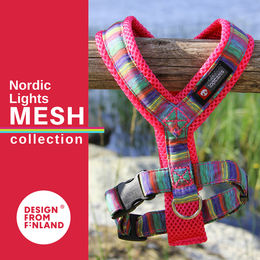 Nordic Lights Mesh red