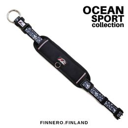 OCEAN adjustable collar with black padding
