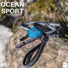 OCEAN sport adjustable leash with gagga bag holder photo: Tiina Korhonen