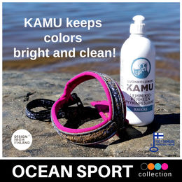 Natural KAMU keeps colors bright and clean  OCEAN SPORT harness