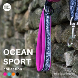 OCEAN SPORT leash fuchia photo: The Cotswolds Spaniels