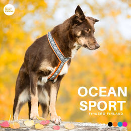 Priima wears OCEAN SPORT harness orange phot: @miikkuvaan