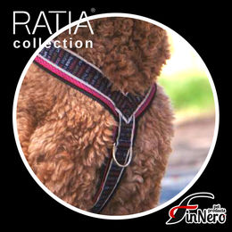 RATIA 8 shape MESH harness and the ring on the front