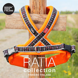RATIA 8 shape harness orange