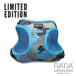 RATIA CAMO double vest harness Forest Lake/ turquoise