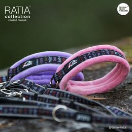 RATIA soft collar violet and pink photo: terrieritytot