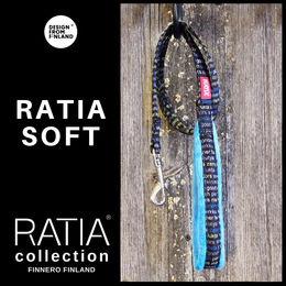 RATIA soft basic leash turquoise