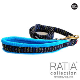 RATIA soft leash turquoise