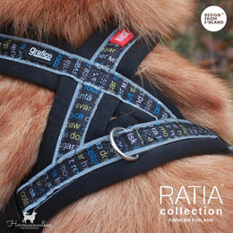 RATIA 8 shape harness black padding photo: @harmaanvalkea/ Senja Pikkusilta