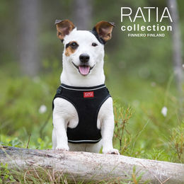 RATIA vest harness black size M photo: Miikku Pietilä / MiikKuvaan