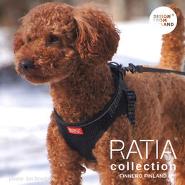 RATIA vest harness black photo: 1stDogCafe
