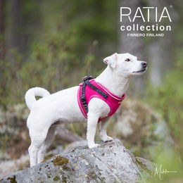 Pink RATIA vest harness photo: Miikku Pietilä