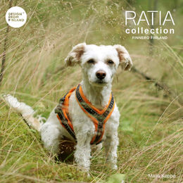 RATIA 8 shape harness orange size 30 cm photo: Maija Keppo