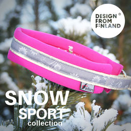 SNOW SPORT collar rasberry