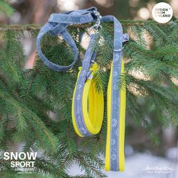 Yellow SNOW Sport collar and adjustable leash photo: Tiina Korhonen