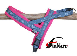 Snow Sport T harness rasberry