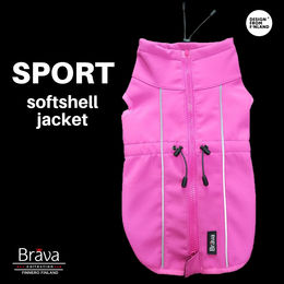 BRAVA softshel jacket pink