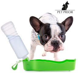 Pet Prior Travel Bowl with Bottle