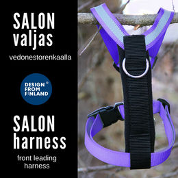 SALON harness violet