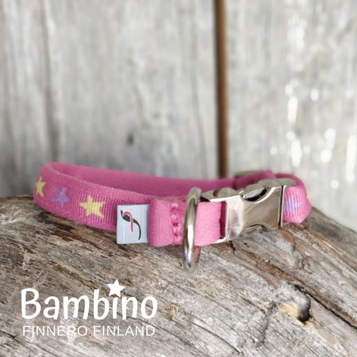 BAMBINO collar Girly Pink photo: Tuula Pekkala