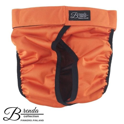 Brenda heat pants for dogs orange