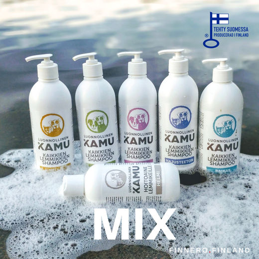 MIX = 5 different shampoo and PEARL conditioner