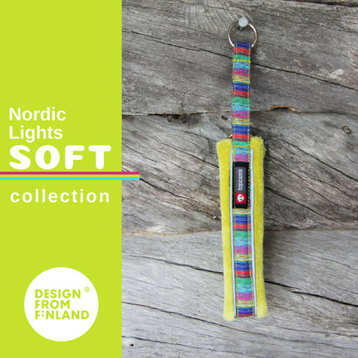 Nordic Lights Soft collar lime