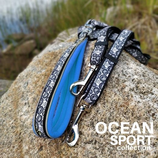 OCEAN DOUBLE adjustable leash photo: Tuula Pekkala / Finnero