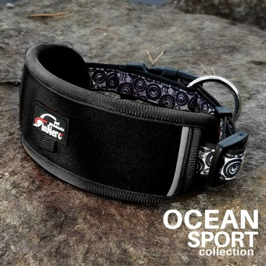 OCEAN SPORT adjustable collar black