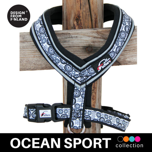 OCEAN SPORT Y harness black