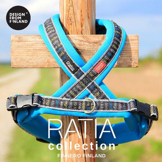 RATIA 8 shape harness turquoise