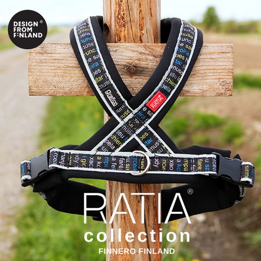 RATIA 8 shape harness black