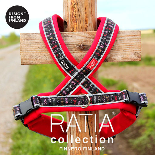 RATIA 8 shape harness red
