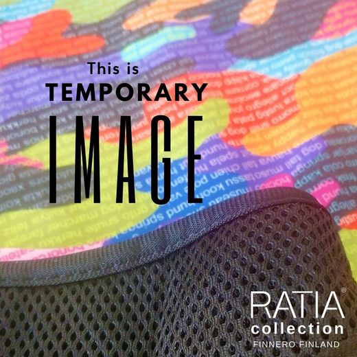 Ratia CAMO Rainbow and black Mesh padded handle