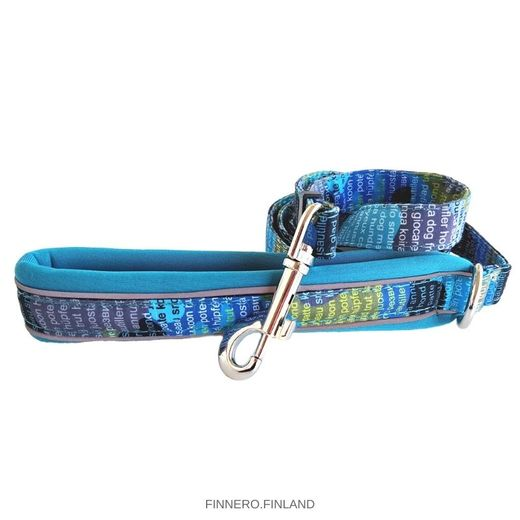 CAMO SPORT adjustable leash Forest Lake-turquoise