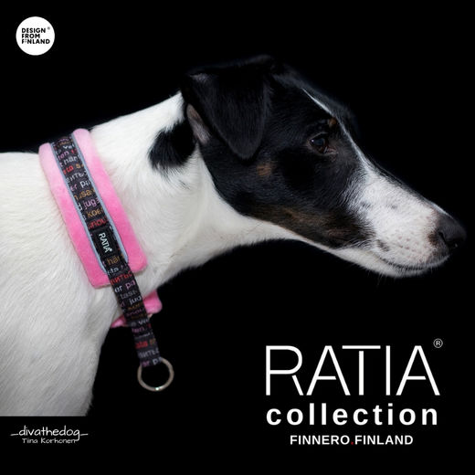RATIA soft collar pink Diva size 1 photo: Tiina Korhonen